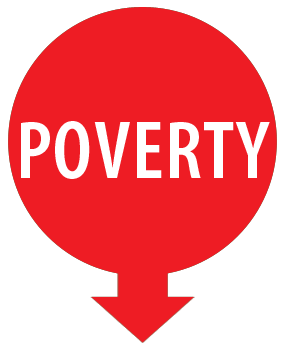 Poverty new button